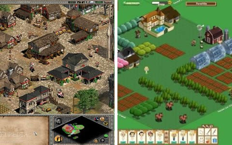 Popular Games Using Isometric Views - Age Of Empires & FarmVille