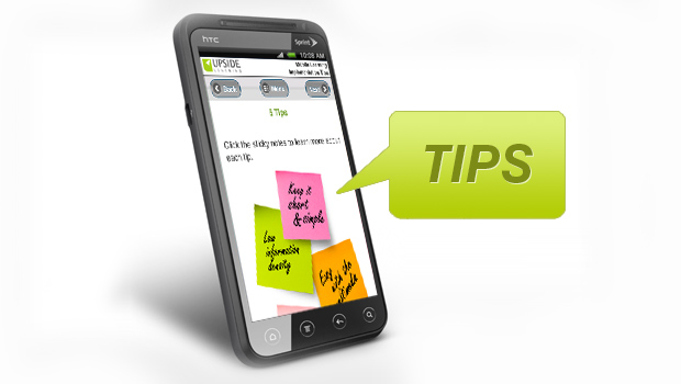 Five Practical Mobile Learning Tips
