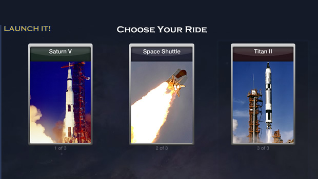 Launch It! - Interactive Educational Feature Created by NASA