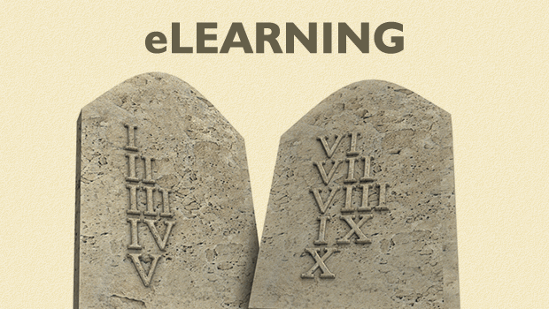 The Ten Commandments of eLearning