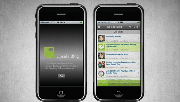 Upside Blog iPhone App Is Here – Download Today