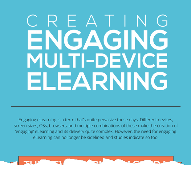 Creating Engaging Multi-device eLearning | Infographic