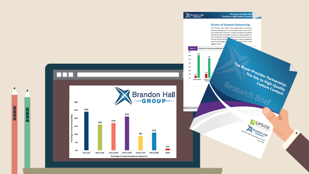 Brandon Hall Report on eLearning Outsourcing