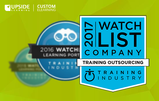 Upside Learning Featured in 2017 Training Outsourcing Companies Watch List
