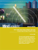 Why Employee Development Matters