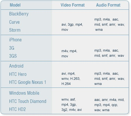 Audio Vs Video Format