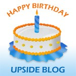 Happy Birthday Upside Blog
