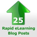 Top 25 Rapid eLearning Blog Posts