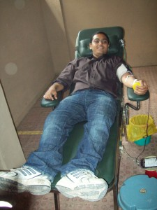 Upside Learning Blood Donation