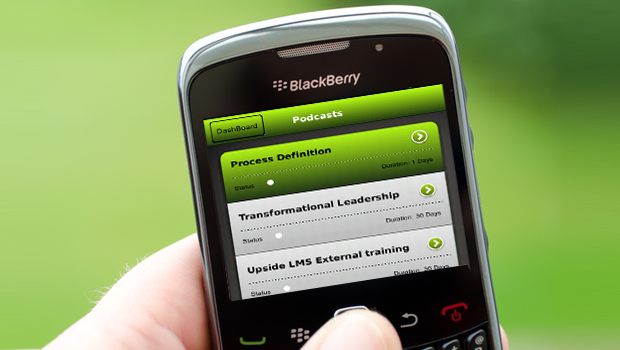 Upside2Go Now On Blackberry