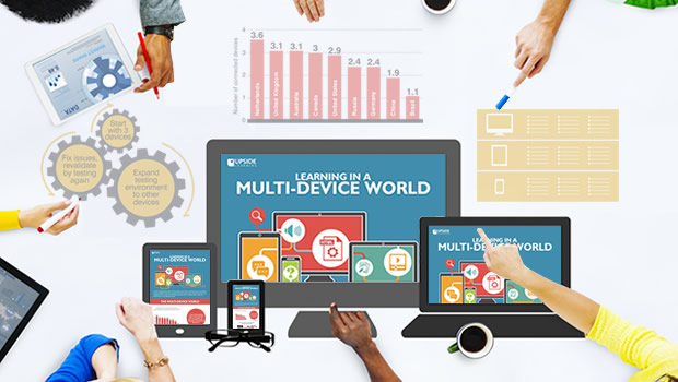 Infographic - Learning in a Multi-device World